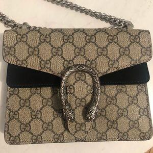 Gucci Authentic Dionysus GG Supreme Mini Bag